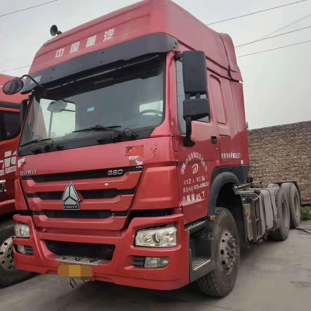 中国重汽HOWO 牵引车  380匹 2017年06月 6x4