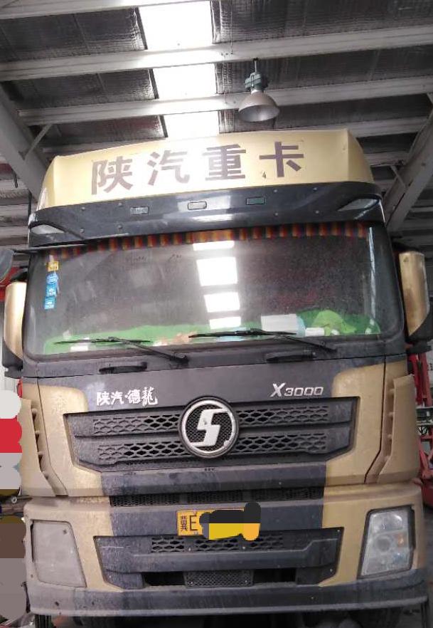 陕汽德龙X3000 牵引车  460匹 2017年03月 6x4