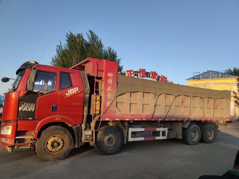 一汽解放J6P重卡 自卸車  460匹 2019年07月 8x4