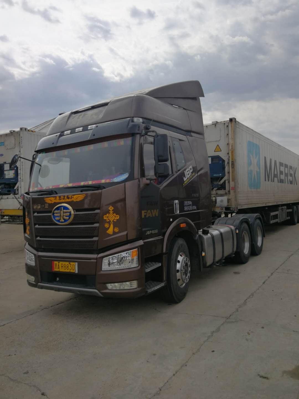 一汽解放J6P重卡 牽引車  500匹 2018年04月 6x4