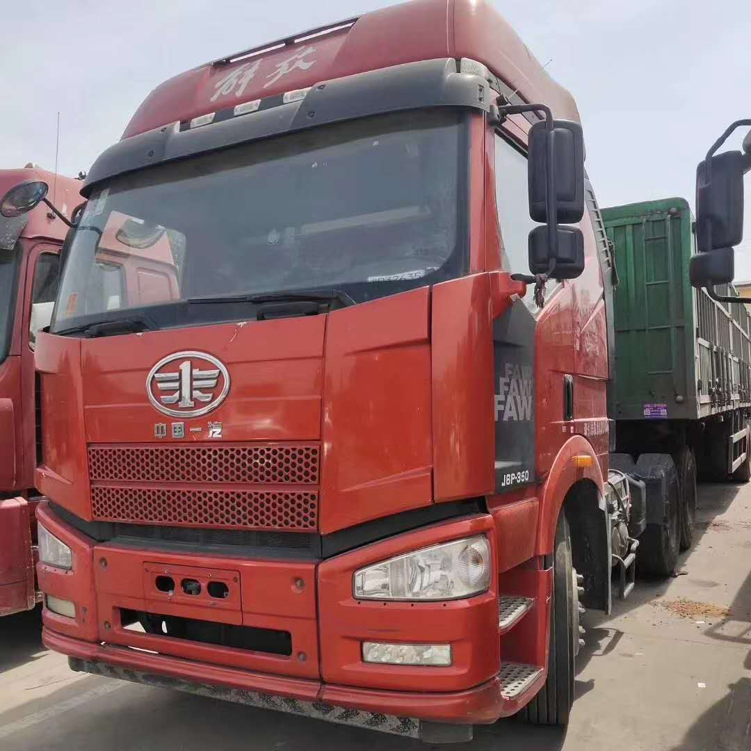 一汽解放J6P重卡 牽引車  350匹 2016年12月 6x4