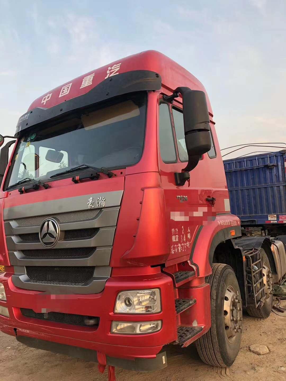 中國重汽豪瀚 牽引車  375匹 2017年08月 6x4