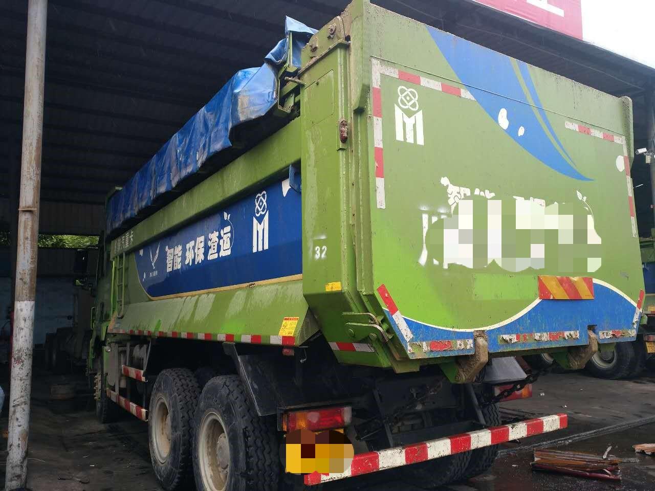 陜汽德龍新M3000 自卸車  345匹 2017年11月 6x4