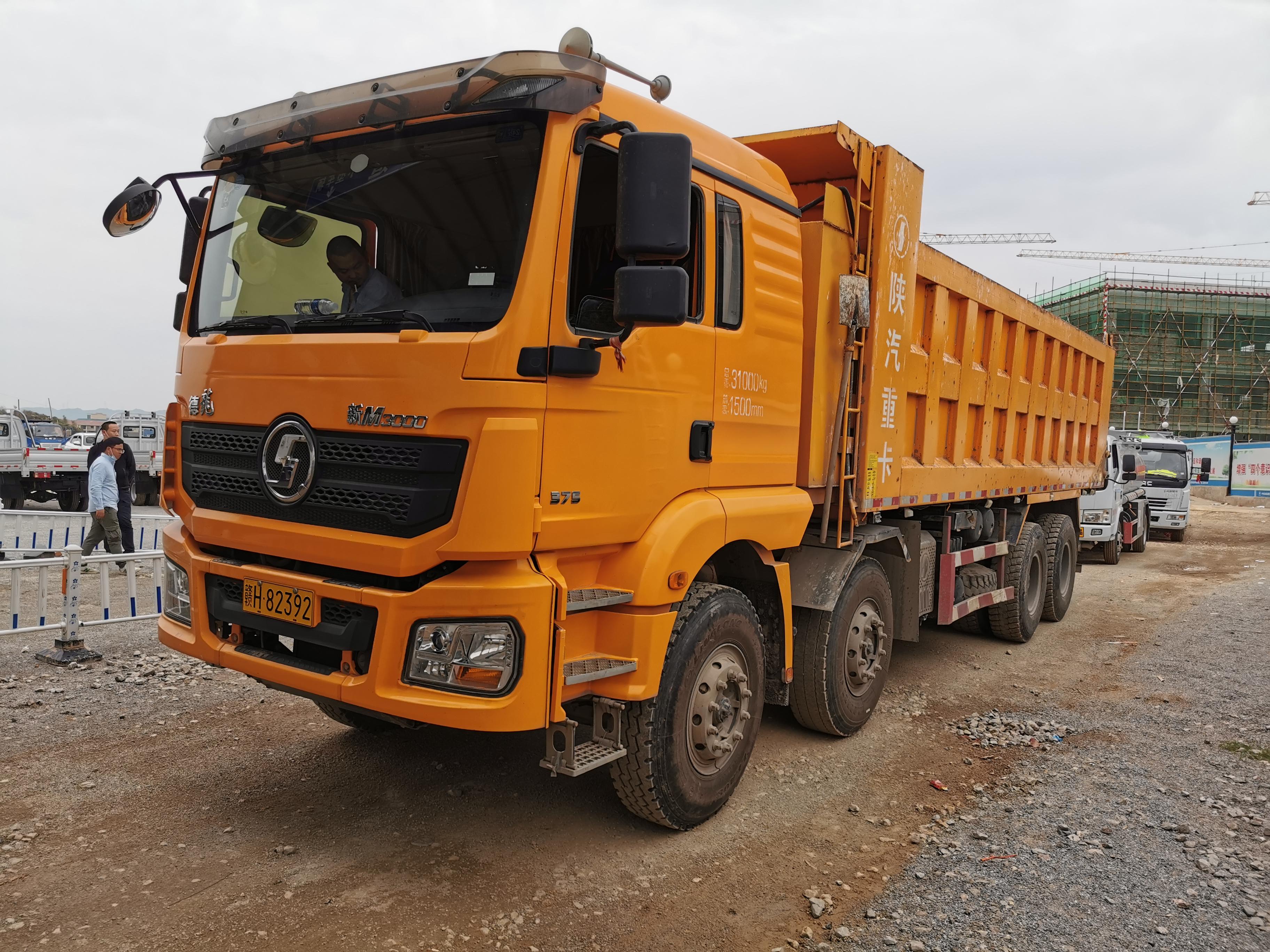 陜汽德龍新M3000 自卸車  375匹 2018年04月 8x4