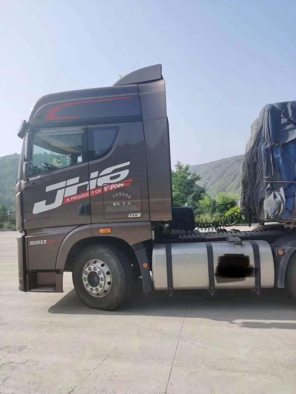 青島解放JH6重卡 輕量化集卡型 牽引車  430匹 2019年11月 6x4
