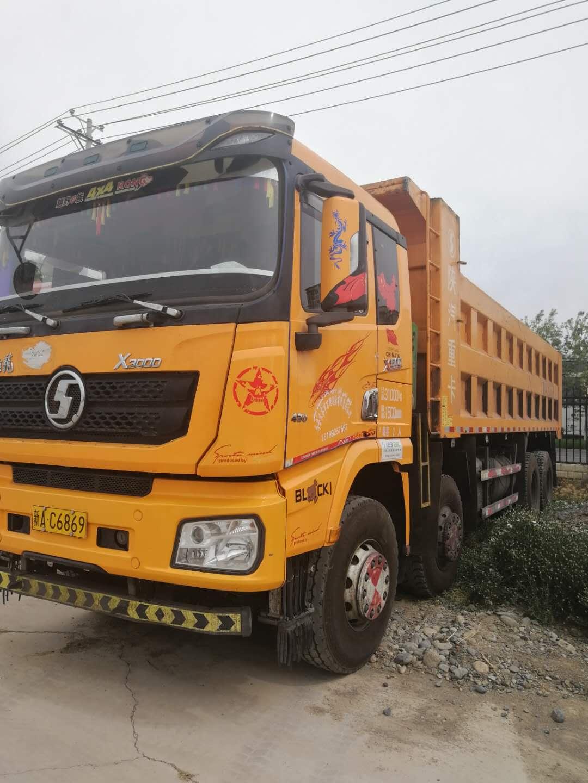 陕汽德龙X3000 自卸车  430匹 2018年04月 8x4