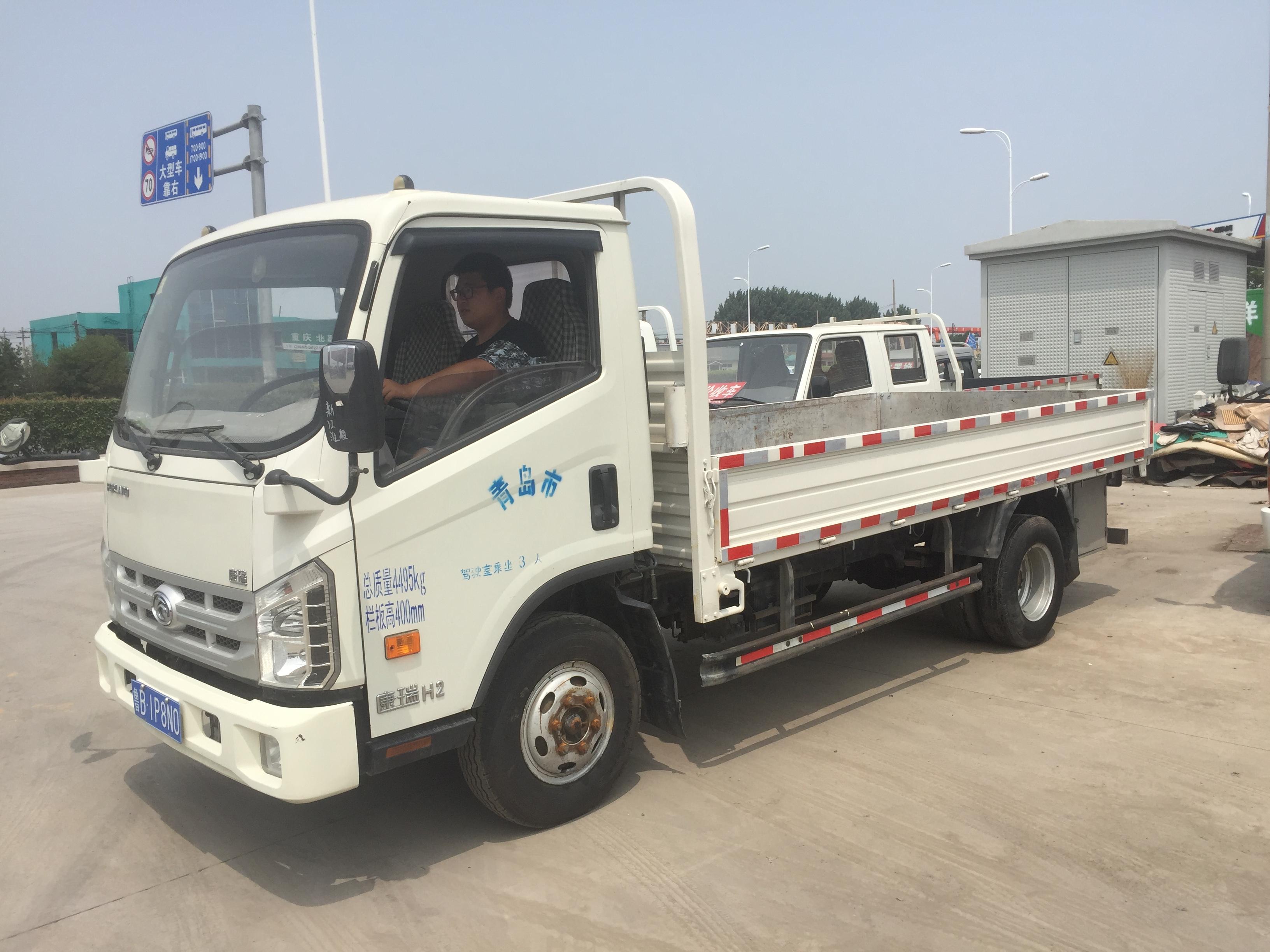 江鈴集團輕汽騏鈴T7 載貨車  112匹 2013年07月 4x2