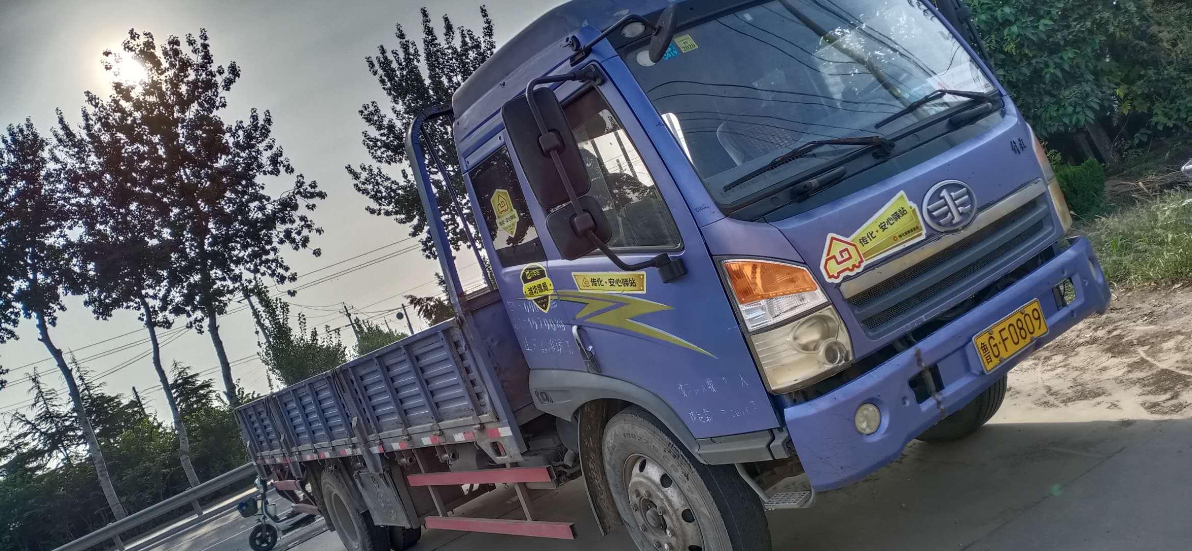 一汽解放 载货车  140匹 2010年11月 4x2
