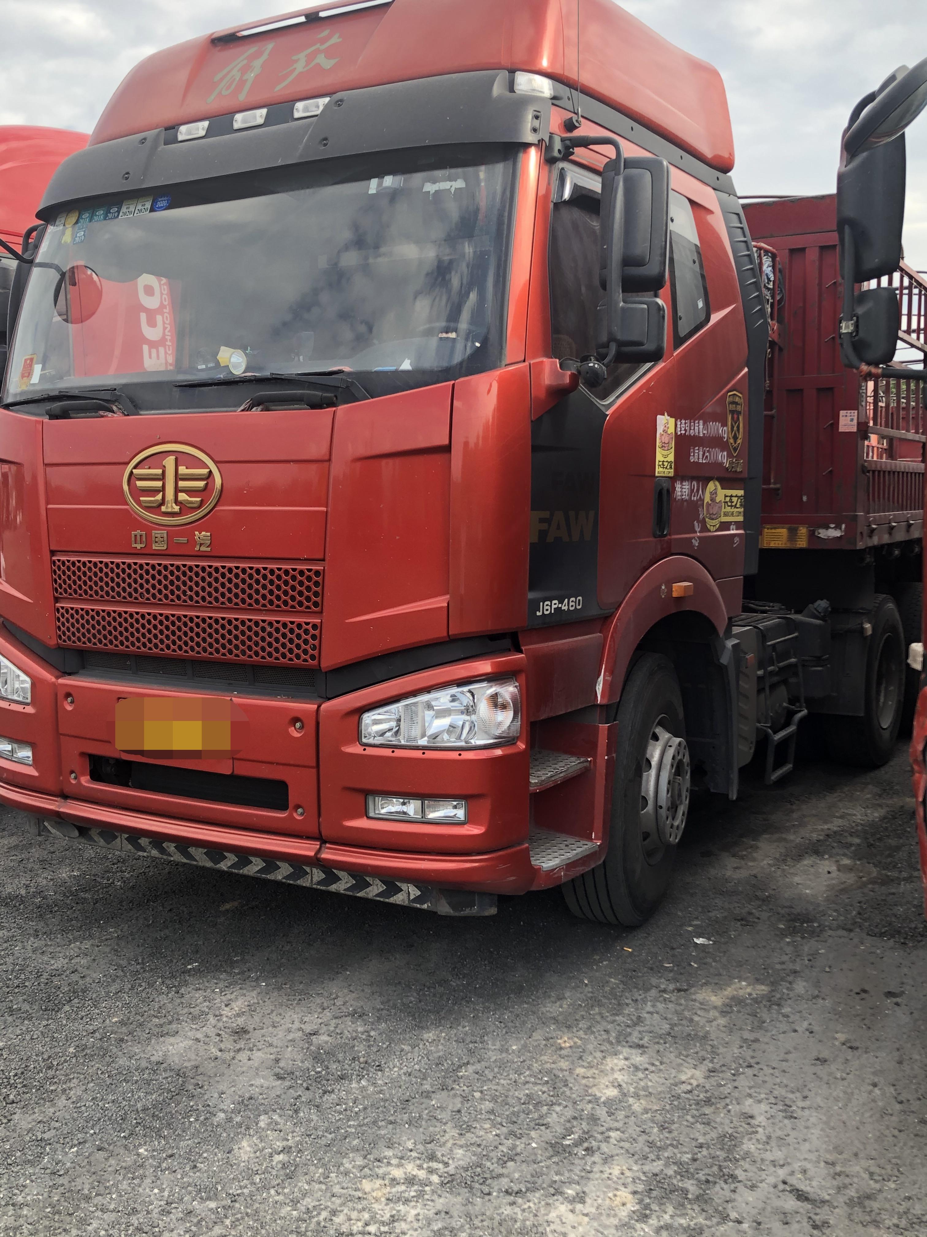 一汽解放J6P重卡 牽引車  460匹 2016年11月 6x4