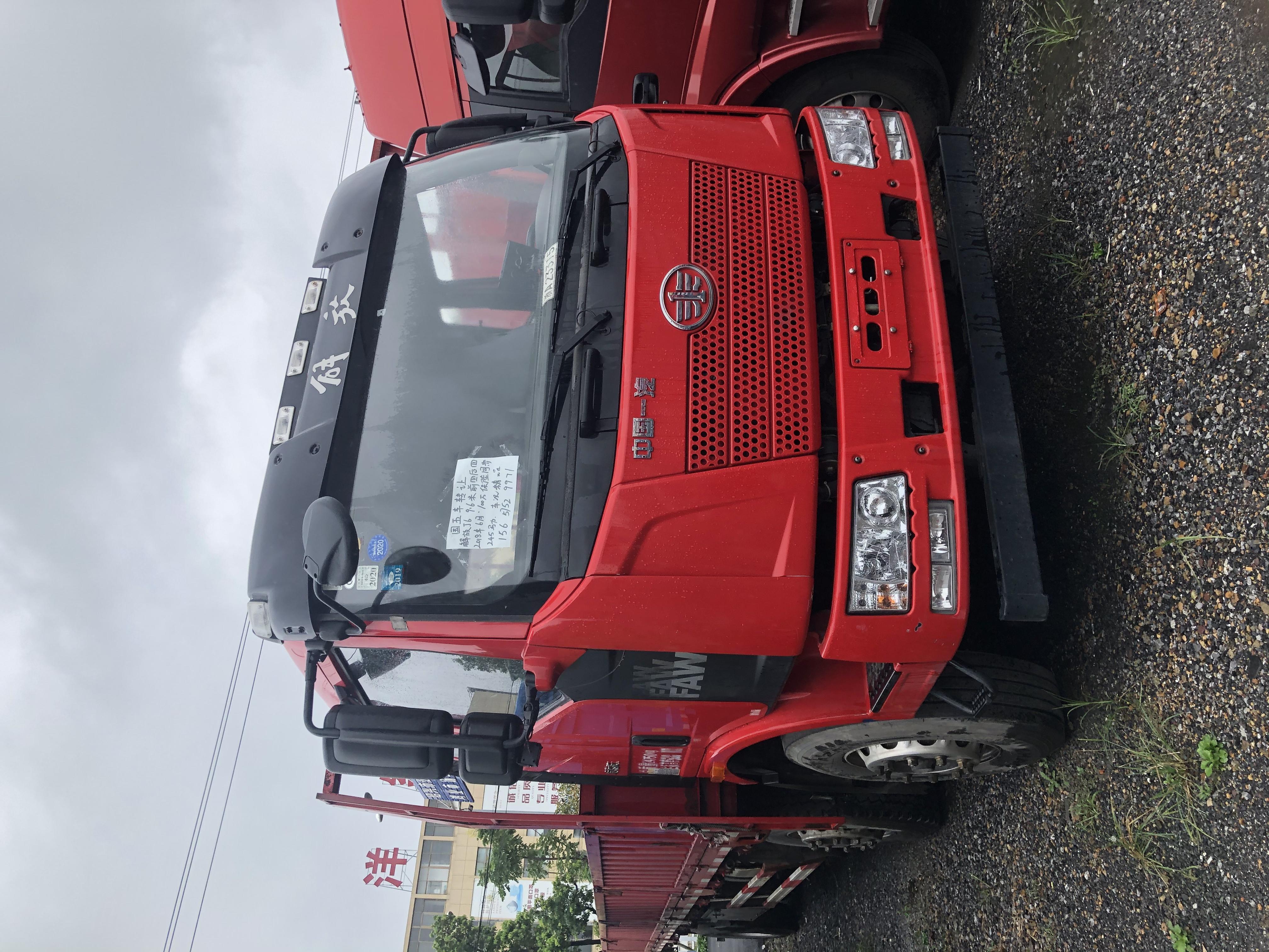 一汽解放其他車系 載貨車  180匹 2018年08月 4x2