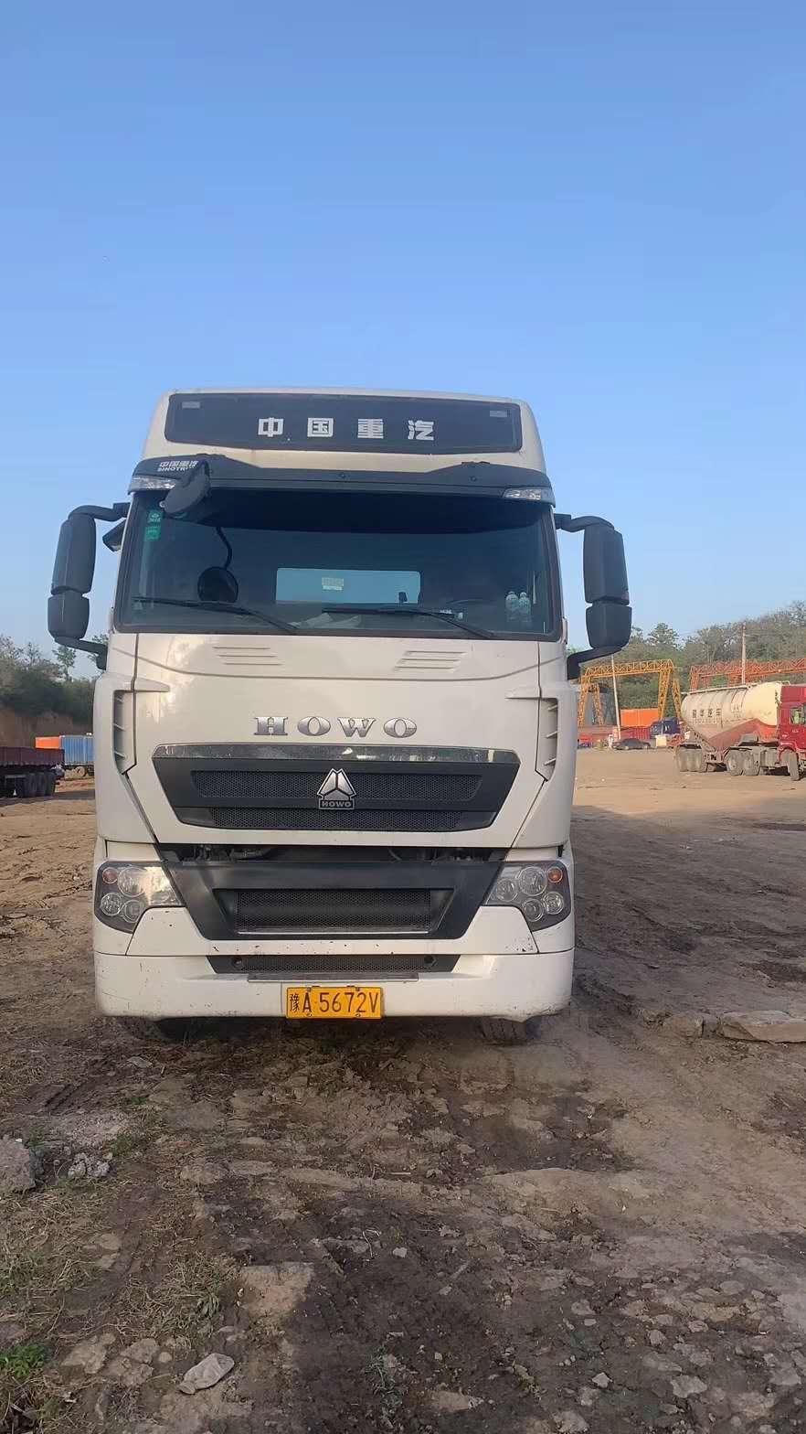 中國重汽HOWO 牽引車  540匹 2017年01月 8x4