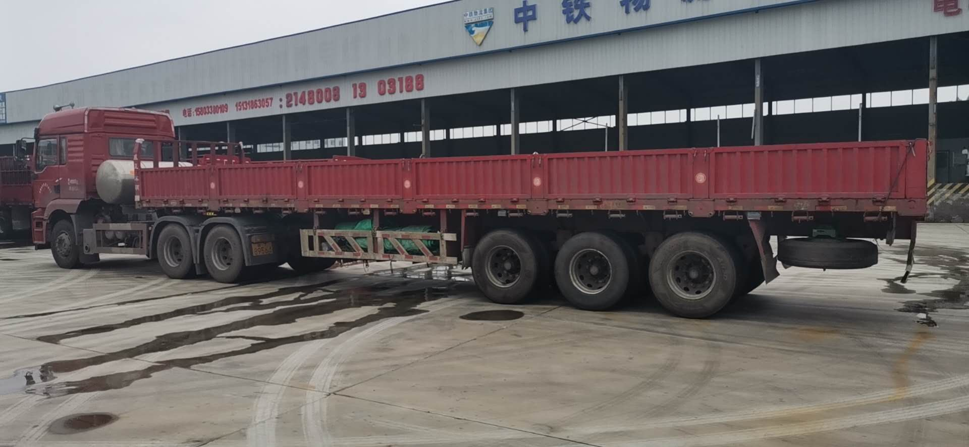 陜汽德龍新M3000 牽引車  380匹 2019年06月 6x4