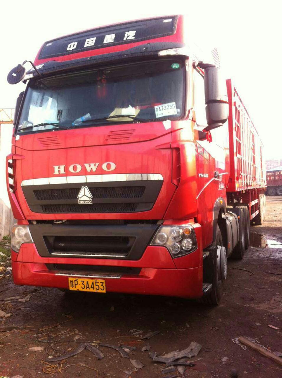 中國重汽HOWO 牽引車  375匹 2015年03月 6x4