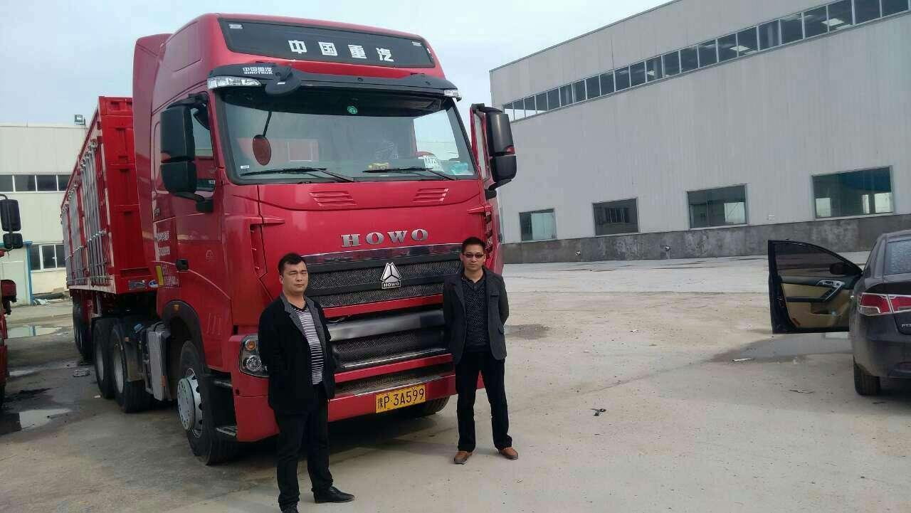 中國重汽HOWO 牽引車  380匹 2015年04月 6x4