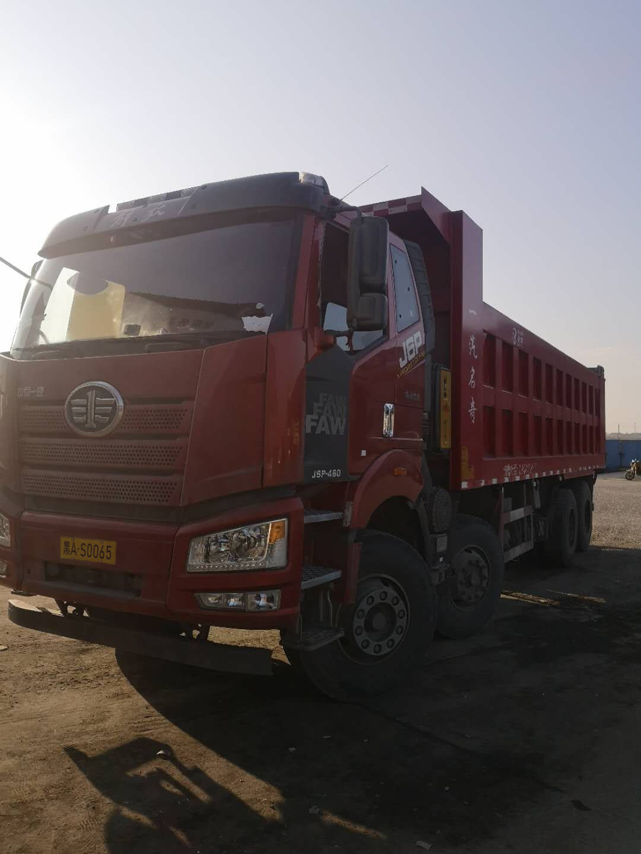 一汽解放J6P重卡 重载型 自卸车  500匹 2019年05月 8x4