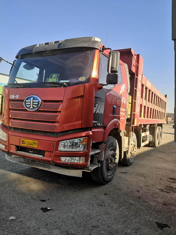 一汽解放J6P重卡 重载型 自卸车  460匹 2019年05月 8x4