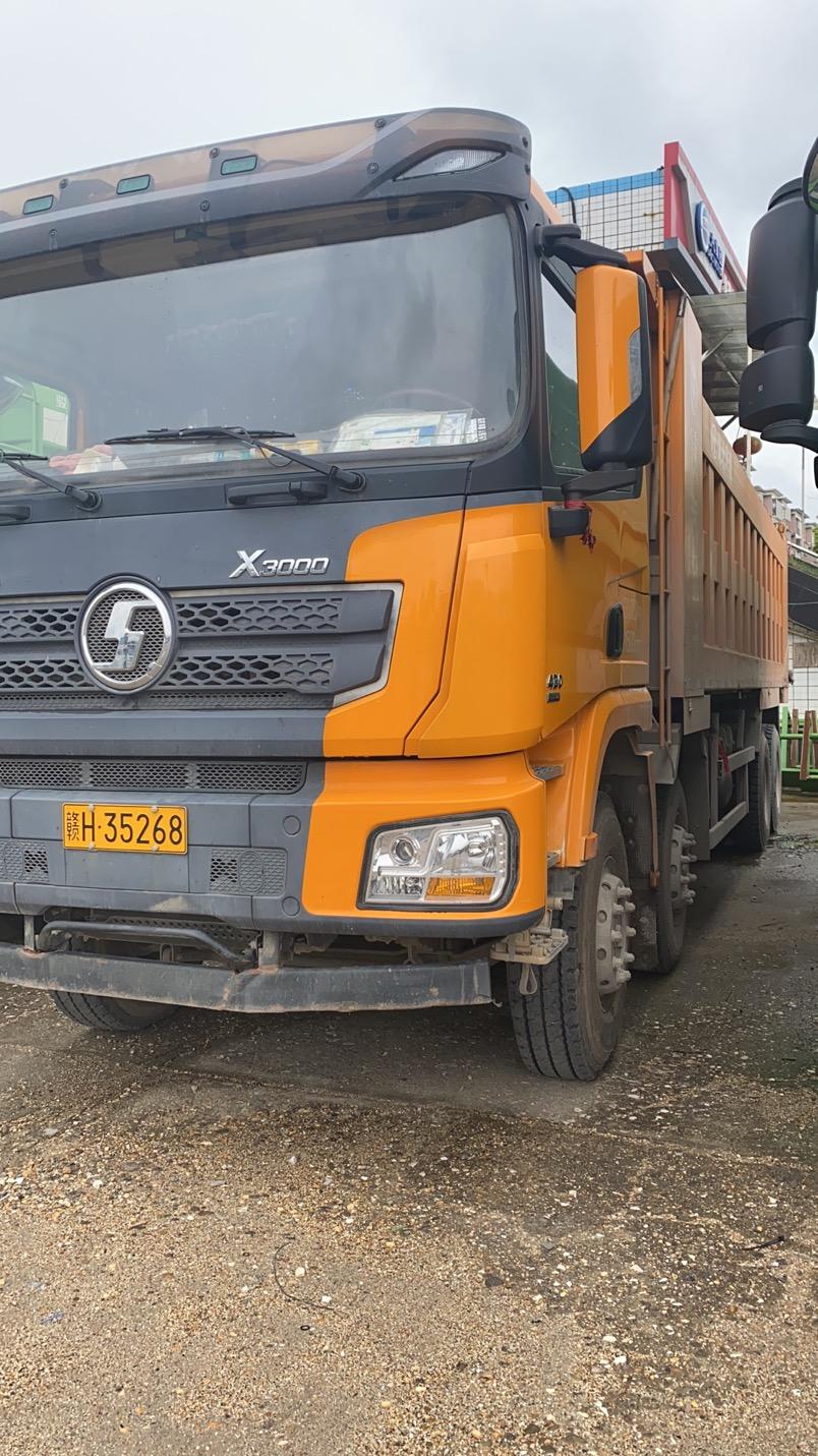 陕汽德龙X3000 自卸车  430匹 2019年10月 8x4