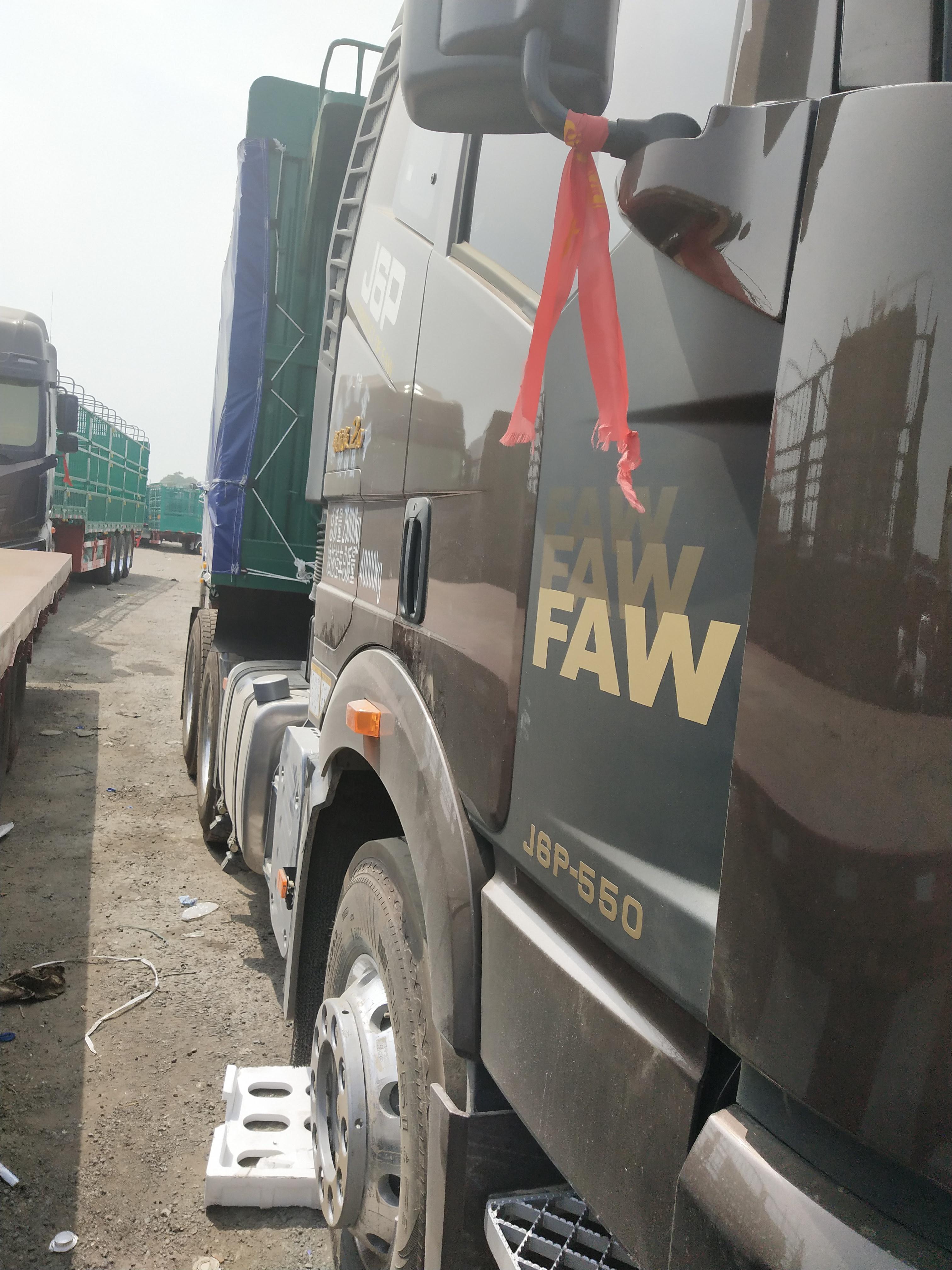 一汽解放J6P重卡 牵引车  550匹 2018年07月 6x4