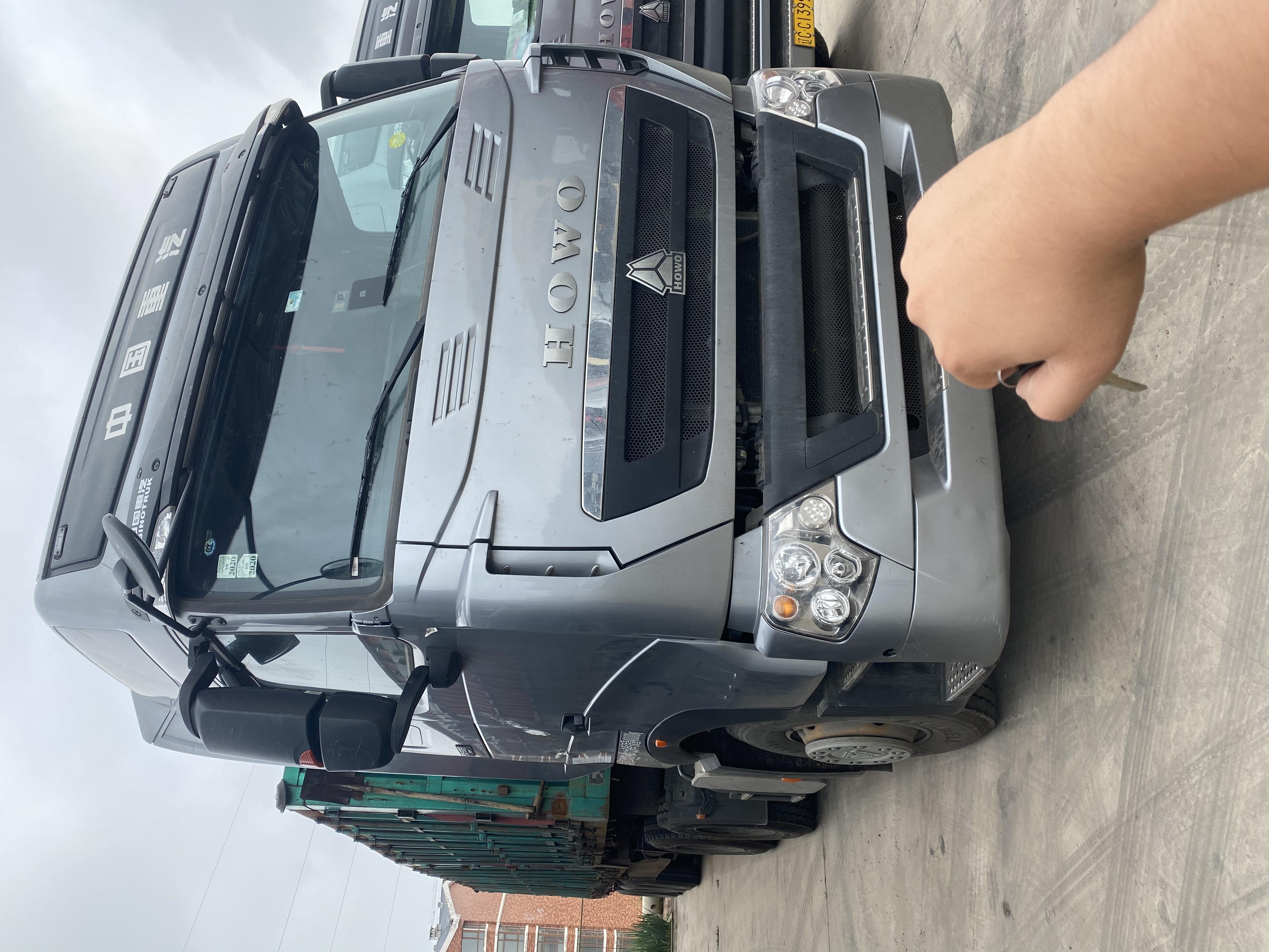 重汽HOWO轻卡G5X 牵引车  540匹 2019年02月 6x4