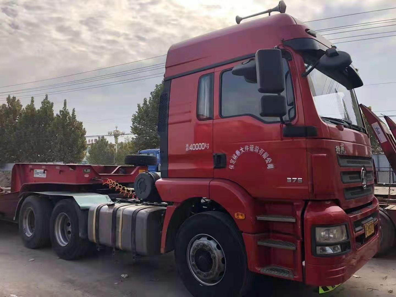 陕汽德龙新M3000 牵引车  375匹 2018年10月 6x4
