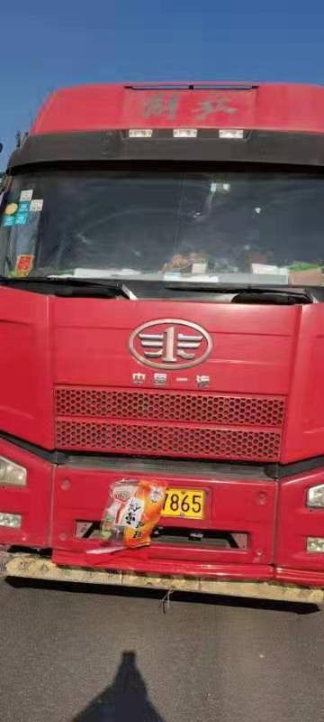 青岛解放JH6 牵引车  390匹 2015年06月 6x4