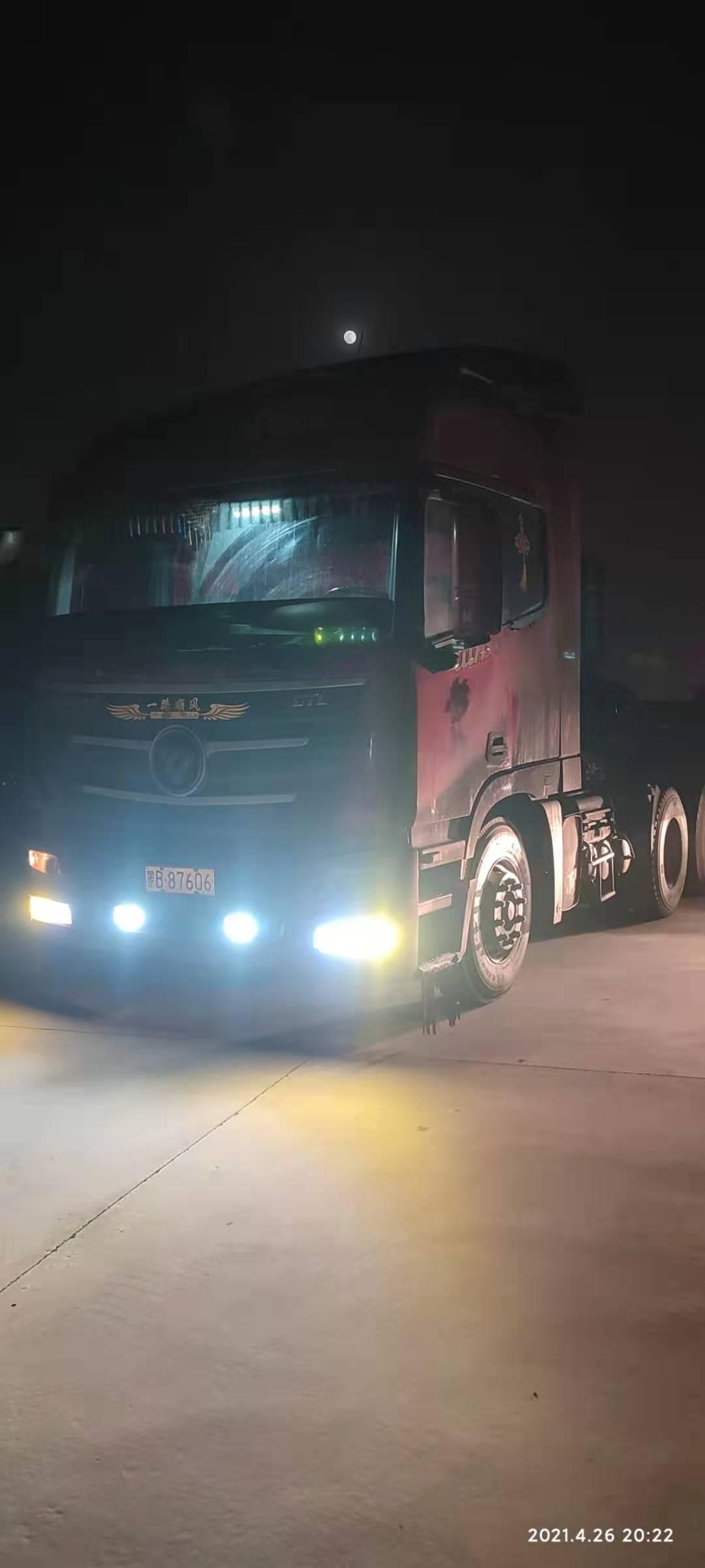 福田欧曼GTL 牵引车  430匹 2013年05月 6x4