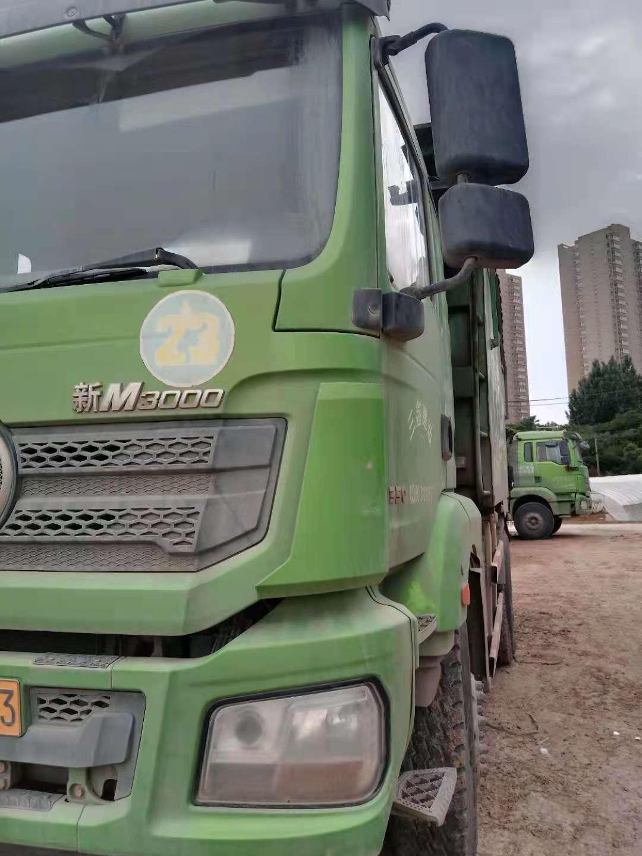 陕汽德龙新M3000 自卸车  350匹 2018年06月 6x4