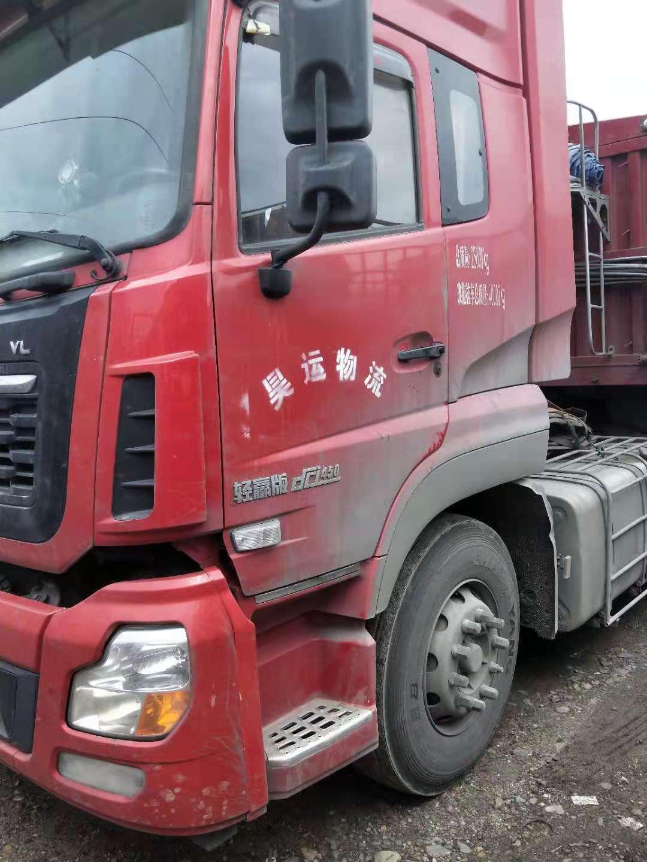 东风天龙 牵引车  420匹 2015年08月 6x4