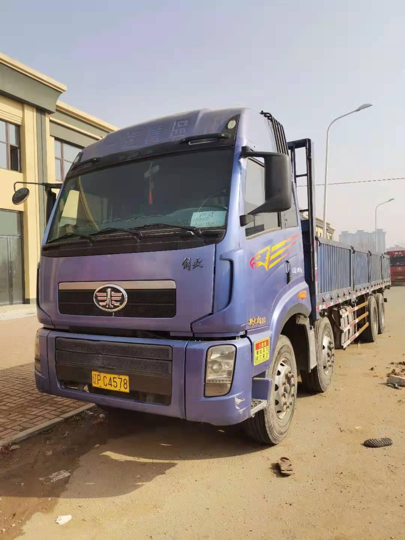 青岛解放JH6重卡 轻量化集卡型 载货车  460匹 2014年02月 8x2