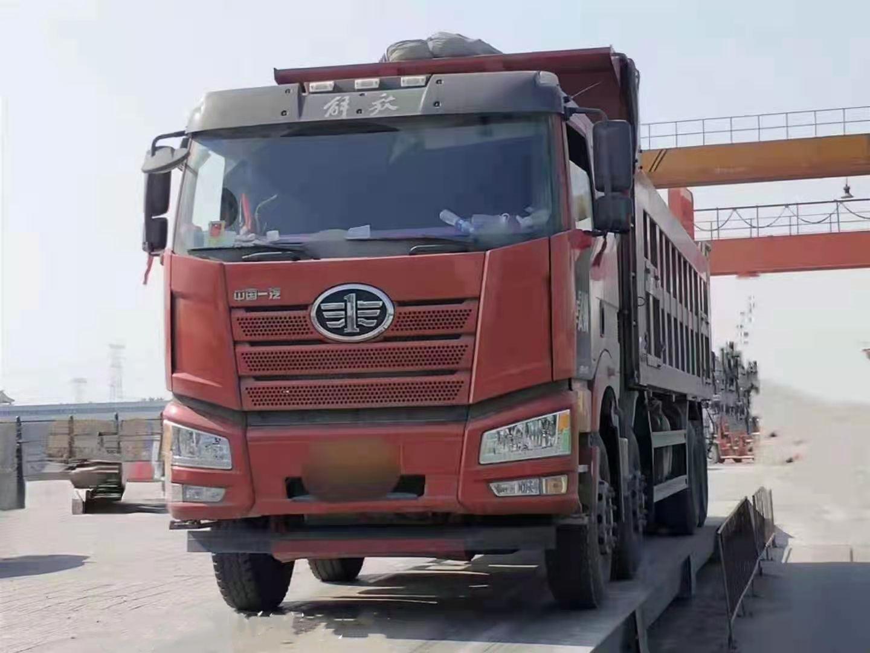 一汽解放J6P重卡 自卸车  420匹 2017年06月 8x4