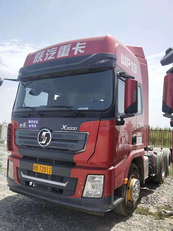 陕汽德龙X3000 牵引车  500匹 2017年05月 6x4