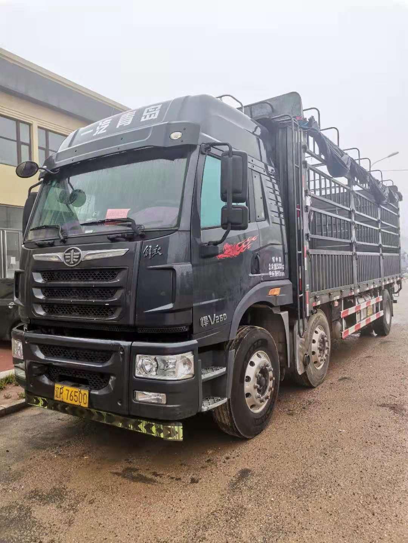 青岛解放JH6重卡 高效物流型 载货车  280匹 2012年06月 8x4