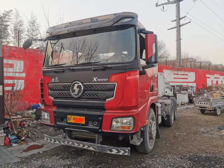 陕汽德龙X3000 牵引车  500匹 2018年03月 6x4