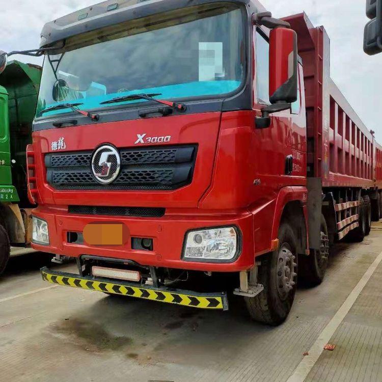 陕汽德龙X3000 自卸车  430匹 2018年09月 8x4