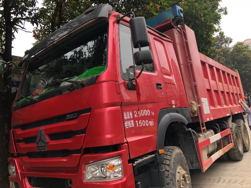 中國重汽HOWO 自卸車  380匹 2018年04月 6x4